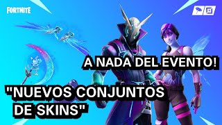 "NEW SKINS SETS! ""INTERESTELAR AND LIGHT QUEBRADA"" NOTHING FROM THE EVENT! FORTNITE"