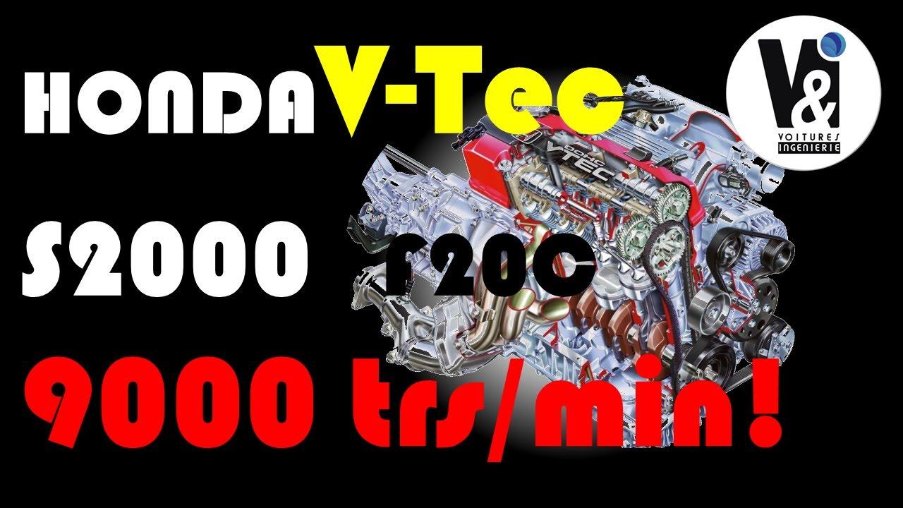 Honda V-Tec  (F20C) S2000 : Histoire d'un moteur d'anthologie