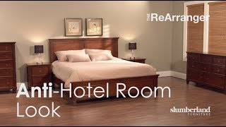 "Slumberland Furniture's ""the Rearranger""   Anti Hotel Room Look"