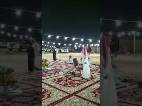 قصيدة وطنية للشاعر فهد بن خالد الشويش الخالدي في مخيم العقيلي الخالدي .