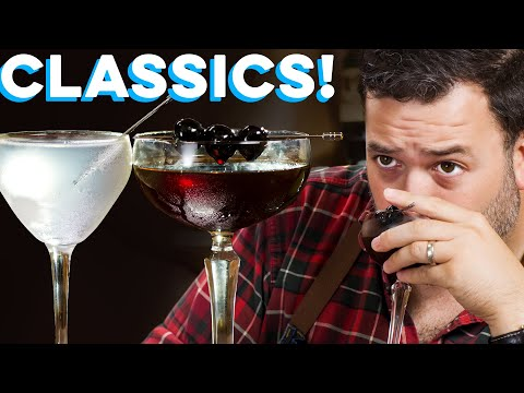 Gibson & Reverse ManhattanClassic Drinks you Need! | How to Drink