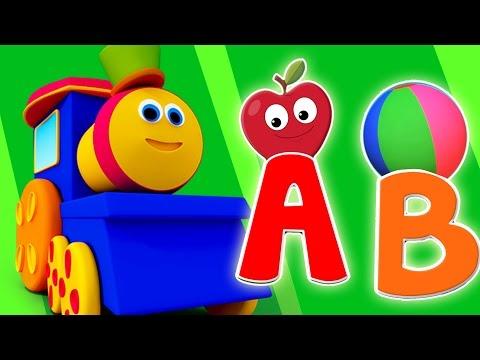 Bob Zug und Phonik   3D-Video für Kinder   Educational Video