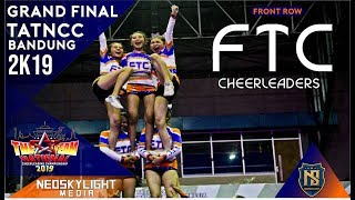 2Nd Place I FTC Cheers I @Grand Final TAT NCC Bandung 2019 [@Neoskylight_Media]
