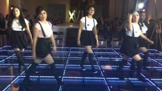 Jazive Flores baile sorpresa 2016