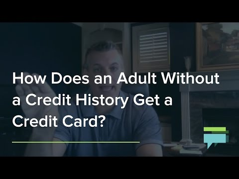 How Does An Without Credit History Get Credit Card
