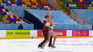 Ритм танец Танцы на льду Москва Кубок России по фигурному катанию 2020 21 Пятый этап