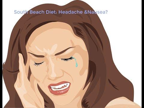 South Beach Diet: Headache & Nausea?