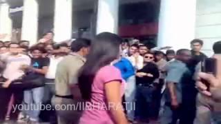 Bollywood Caught - Katrina Kaif  On Connaught Place  -New Delhi