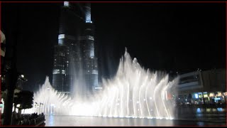Visiting The Dubai Fountain, Burj Khalifa Lake, United Arab Emirates