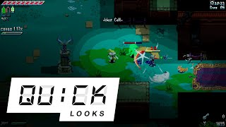 Unsighted: Quick Look (Video Game Video Review)