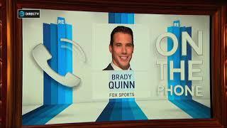 Former Browns QB Brady Quinn on Cleveland's Passing on Carson Wentz   The Rich Eisen Show   10/19/17
