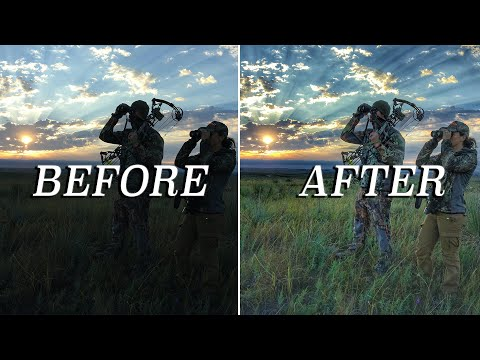 How To Edit Hunting Photos Like A Pro! (ALL On Your Phone) | Bowmar Bowhunting |