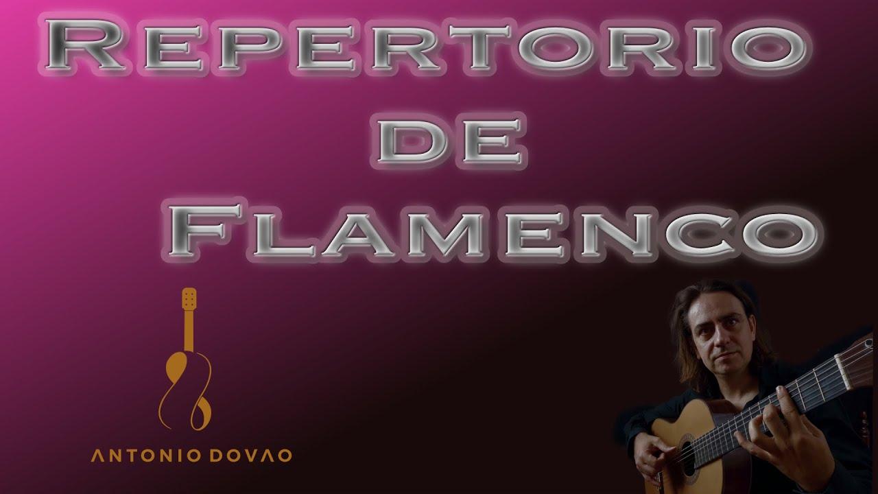 REPERTORIO de GUITARRA FLAMENCA. ¿CUÁNTO debo SABER?