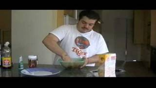 Kitchen Inkompetence - Episode 1 - Spicy Chicken Burgers, Thai Style