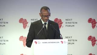 President Kagame delivers Keynote Address at the Opening of Next Einstein Forum