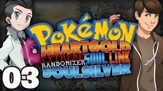 POWER ENCOUNTERS! | Pokémon HeartGold/SoulSilver Extreme Randomizer Soul Link: Part 3!