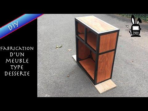 "Fabrication d'un meuble de type "" buffet ou desserte "" // diy"