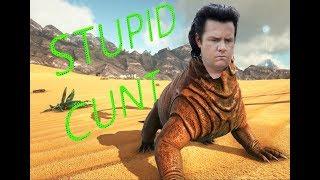 Stupid Cunt самое дебильное существо в Ark Survival добыча полимера мосхопсом