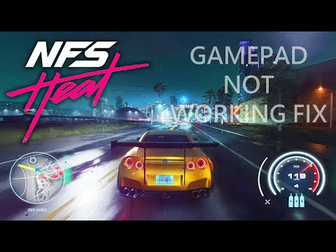 Need For Speed Heat Gamepad Not Working Fix   Steering Wheel Not Detected Fix   Repair Gamepad Issue