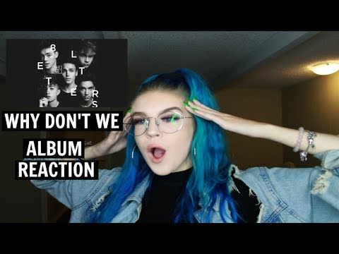 """WHY DON'T WE  """"8 LETTERS"""" ALBUM REACTION 