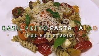 BASIL PESTO PASTA SALAD 바질 페스토 파스타 샐러드