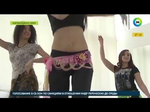 «Черный ангел» на сцене Баку «завоевывает» танец живота