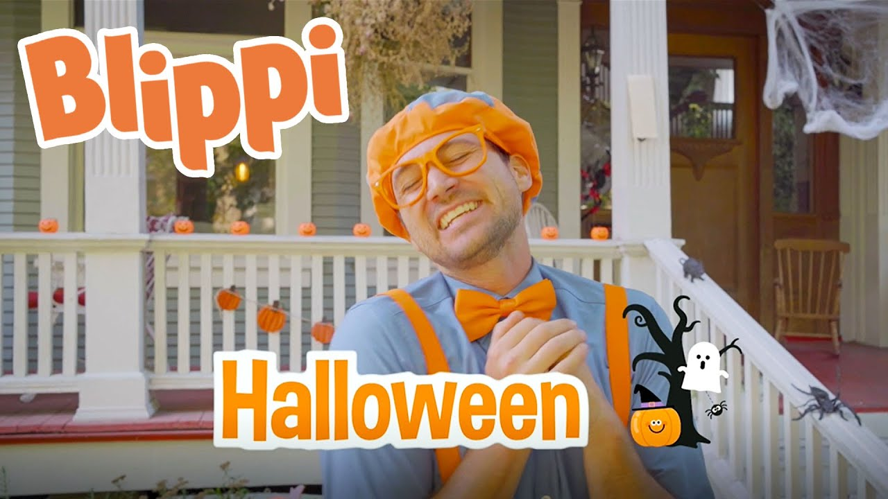 Learning Halloween Decorations With Blippi | Educational Videos For Kids