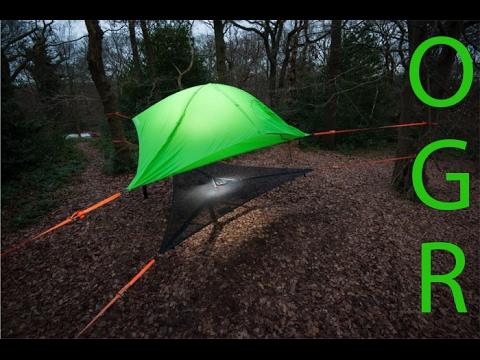 Amazing tent/hammock! Tentsile Stingray. & Amazing tent/hammock! Tentsile Stingray. - YouTube