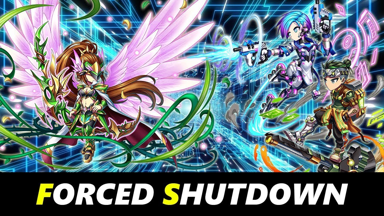 Brave Frontier - Glitch in the Heart : Forced Shutdown (Hard Mode)