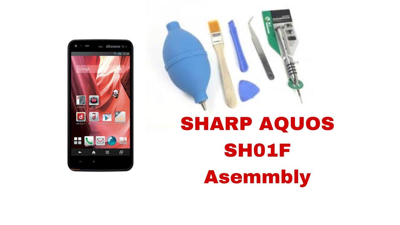 Asembly Sharp Aquos Phone SH-01F Docomo indoesia