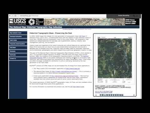 FREE Topo maps from USGS - all topo maps can be downloaded from USGS for FREE