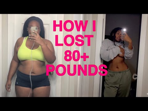 2021 HOW I LOST 80+ LBS!! // My weight loss journey from a size 18 to 8 + TIPS