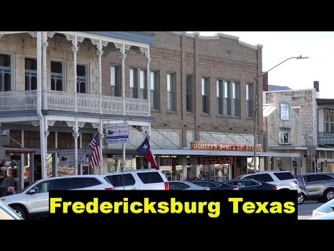 Fredericksburg Texas and Hill Country Driving in 4K Ultra HD - By John D. Villarreal