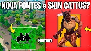 FORTNITE-END OF SALTY FOUNTAINS et SKIN MONSTER CATTUS?