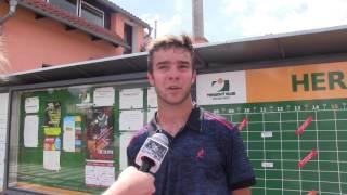 Jakub Novák po prohře v prvním kole kvalifikace na turnaji Futures v Ústí n. O.