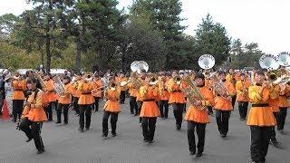 京都橘高校吹奏楽部 第16回京都学生祭典Second  Parade「4k」Kyoto Tachibana SHS Band