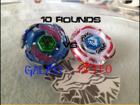 10 ROUNDS! Galaxy Pegasus vs Meteo L-Drago!