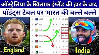 इंग्लैंड की हार के बाद Points Table पर भारत की बल्ले बल्ले, देखिए सेमीफइनल का पूरा गणित