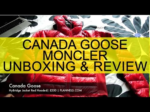 MONCLER & CANADA GOOSE Review FLANNELS.COM Unboxing Video