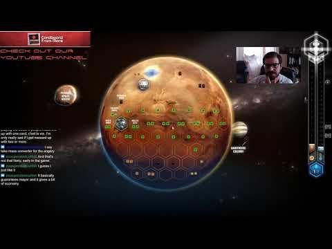 Terraforming Mars - Gameplay Vid #15 (Tharsis Republic) - Cardboard from Mars