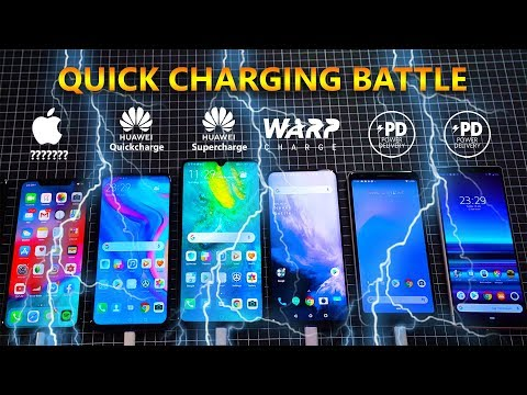 Sony Xperia 1 Vs Oneplus 7 Pro Vs Huawei Mate 20X 5G Vs Pixel 3A XL Fast Charging Speed Test!