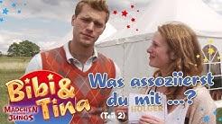 Bibi & Tina -MÄDCHEN GEGEN JUNGS - die Schauspieler sollen spontan antworten