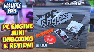 PC Engine Mini With Turbo Grafx-16 Games Unboxing & Review!