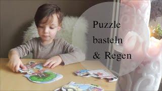 Puzzle , Basteln & Regen || DIEROMANOS