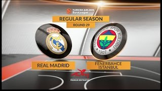 Highlights: Real Madrid-Fenerbahce Istanbul