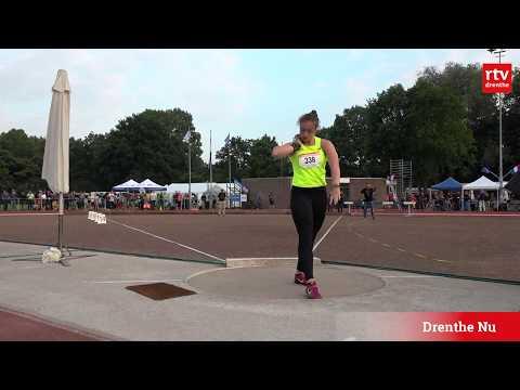 Jorinde van Klinken wint discuswerpen Gouden Spike