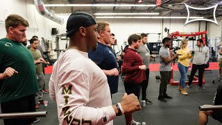 Bench Press Seminar at Cal Strength - Bench Tips for NFL Prospects
