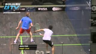 Squash MegaRallies Ramy Ashour v James Willstrop EP4