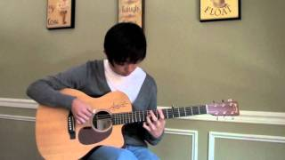 Sungmin Lee: Andy McKee - 'Rylynn' - Acoustic Guitar Cover