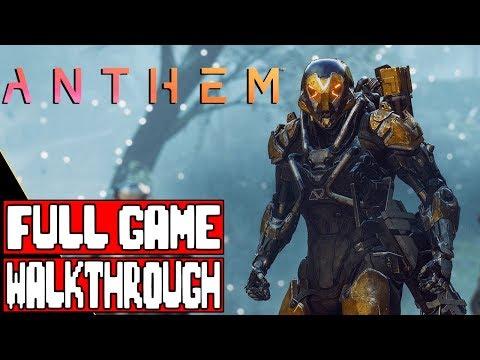 Anthem Full Game Walkthrough | Full Game Movie
